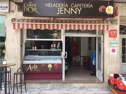 Vendita gelateria Aguilas Spagna- Ingresso
