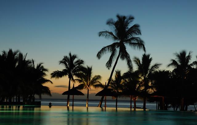 Vendesi Lounge Bar nella stupenda Mauritius