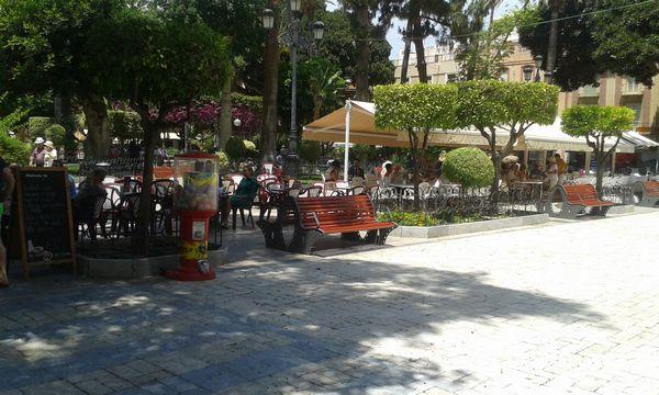 Vendita gelateria Aguilas Spagna - Terrazza