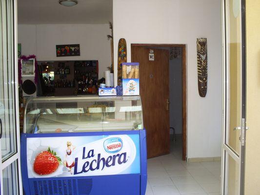 Vendesi ristorante con appartamento a Palma di Maiorca - Gelateria