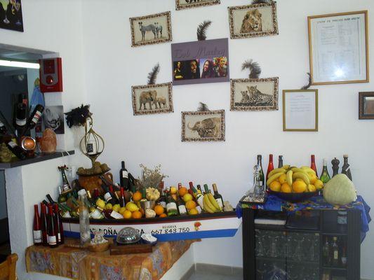 Vendesi ristorante con appartamento a Palma di Maiorca - Sala Interna